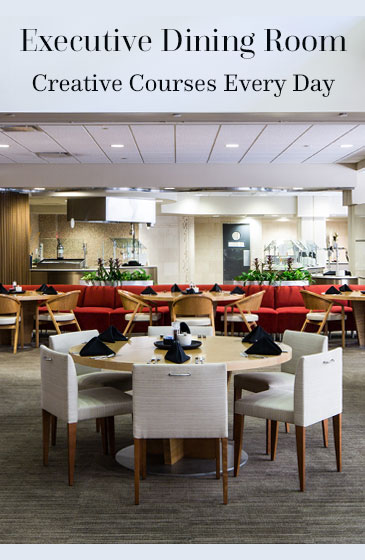 Executive dining room impact web portal