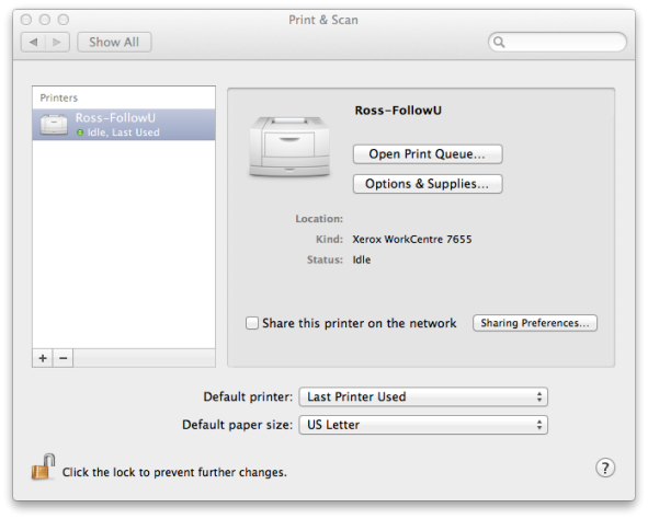 Set Up Printing on Mac OS 10 6 or 10 7 (Snow Leopard or Lion