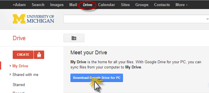how to open pages fils from google drive